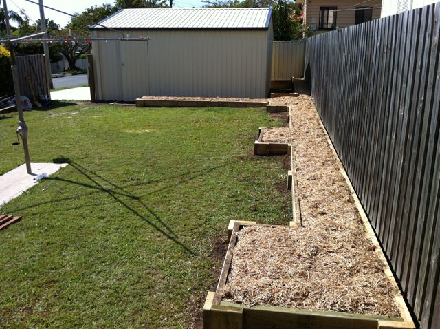 Garden Beds In Eatons Hill Inside Out Handyman Service