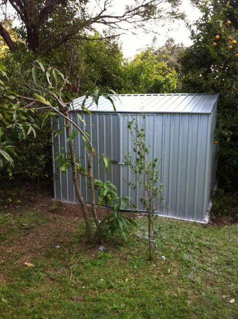 28 7 shed a inside out handyman service eatons hill for Garden shed brisbane