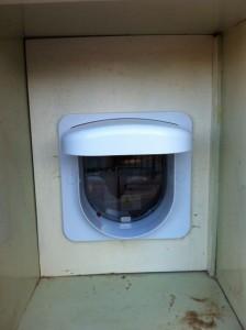 8-9 cat door