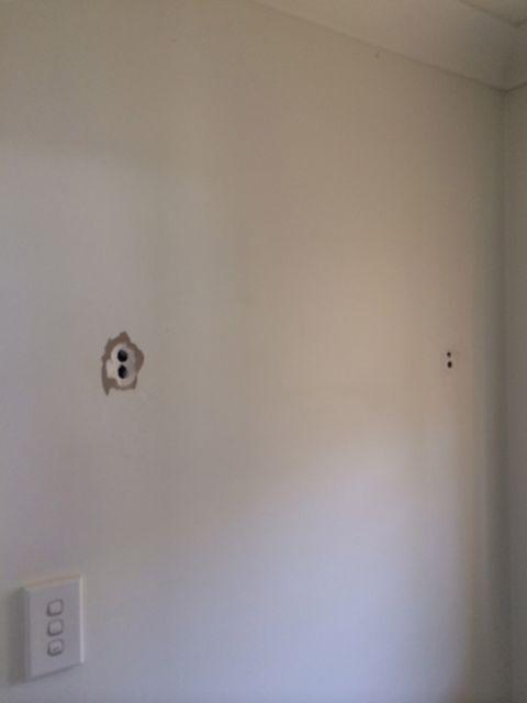 Repair Hole In Wall From Towel Rail In Warner