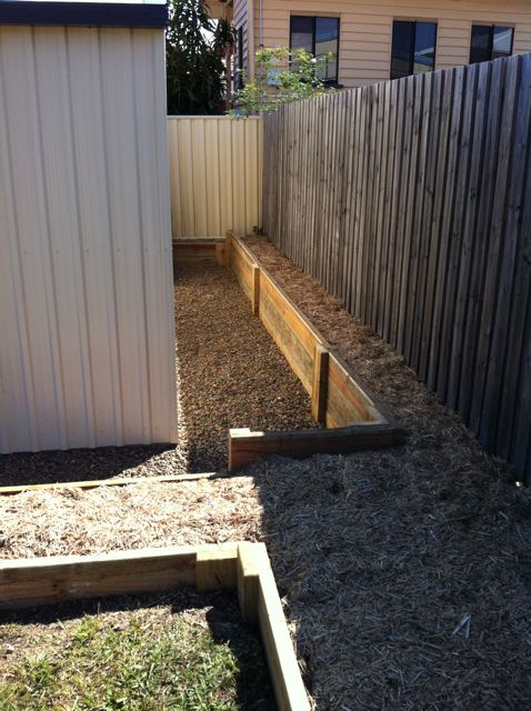 Retaining Wall Scarb Inside Out Handyman Service