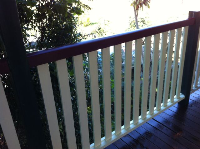 Replace Rotten Timber Balustrade North Brisbane