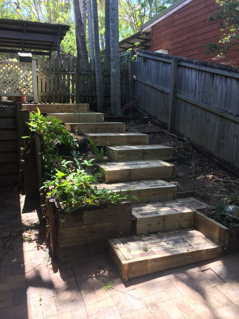 Timber Replacement On Outdoor Steps Inside Out Handyman